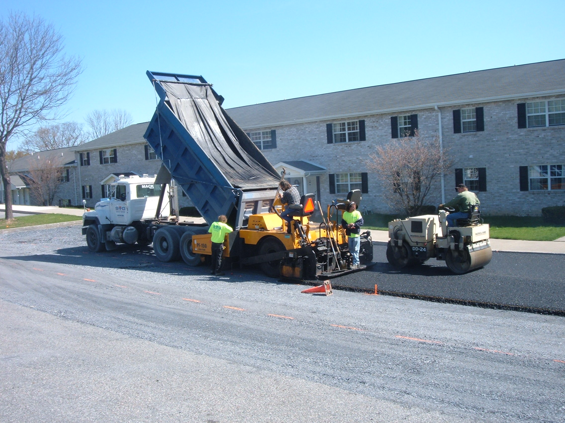 S and G Asphalt Paving service in whitehall pa